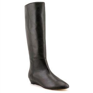 Loeffler Randall Matilda Flat Wedge Leather Boot